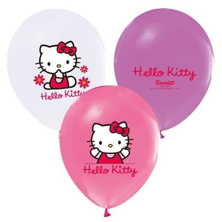Helle Kitty Temalı Balon 10'lu